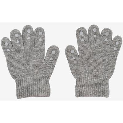 Go Baby Go Grip Gloves - Grey Melange
