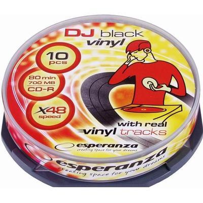 Esperanza CD-R Vinyl 700MB 48x Spindle 10-Pack