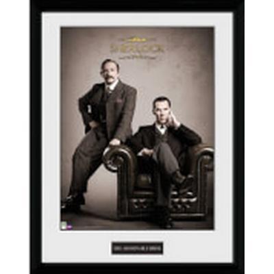 GB Eye Sherlock Victorian 30x40cm Affisch