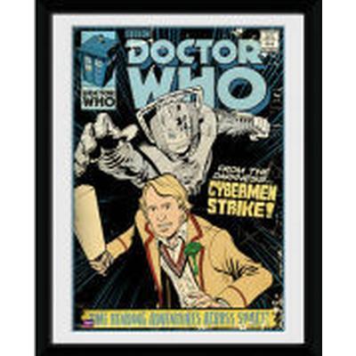 GB Eye Doctor Who Strike 15x20cm Affisch