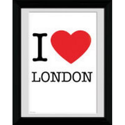 GB Eye London I Love 30x40cm Affisch