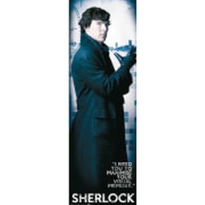 GB Eye Sherlock Solo Door 53x158cm Affisch
