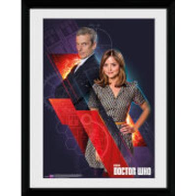 GB Eye Doctor Who Clara and Doctor 30x40cm Affisch