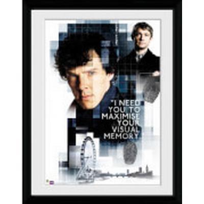 GB Eye Sherlock Memory 30x40cm Affisch
