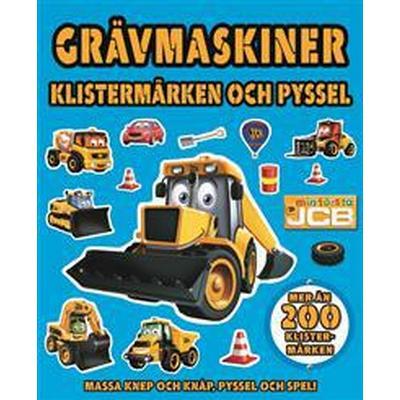 Grävmaskiner. Klistermärken och pyssel (Häftad, 2017)