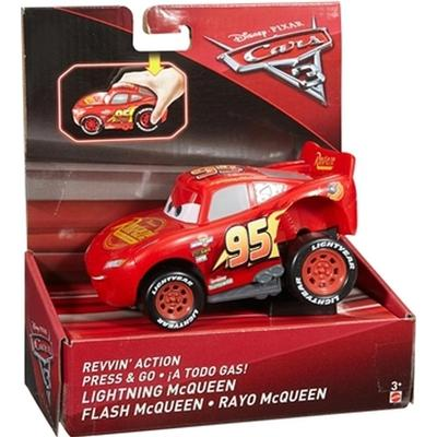 Mattel Disney Pixar Cars 3 Revvin Action Lightning McQueen Vehicle DVD32