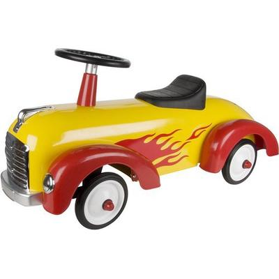 Great Gizmos Yellow and Red Speedster Ride On 8301