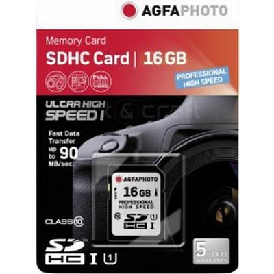 AgfaPhoto Professional SDHC UHS-l U1 16GB