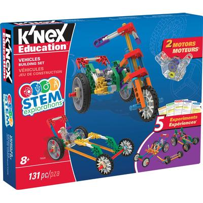 Knex Stem Explorations Vehicles Building Set