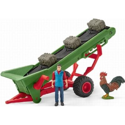 Schleich Hay Conveyor with Farmer 42377