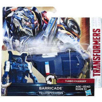 Hasbro Transformers the Last Knight 1 Step Turbo Changer Cyberfire Barricade C1313