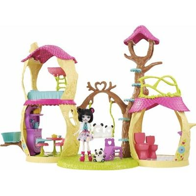 Mattel Enchantimals Playhouse Panda Set
