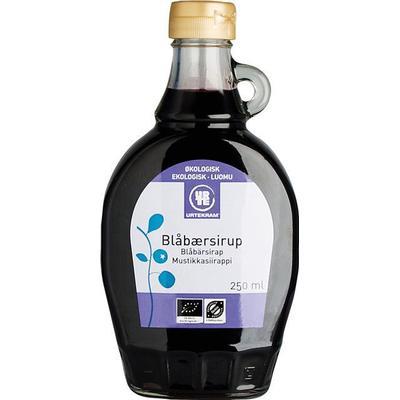 Urtekram Bluebery Syrup 250ml
