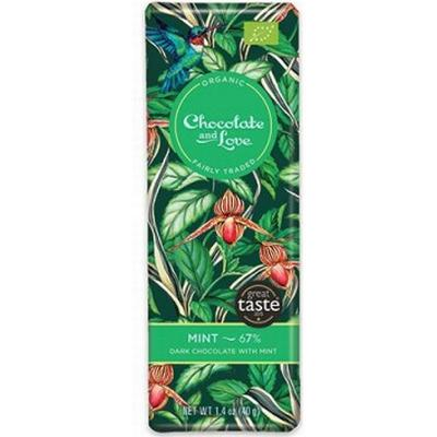 Chocolate and Love Mint 67% 40g