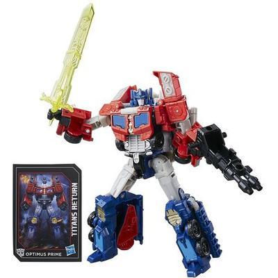 Hasbro Transformers Generations Titans Return Voyager Class Optimus Prime & Diac C0276