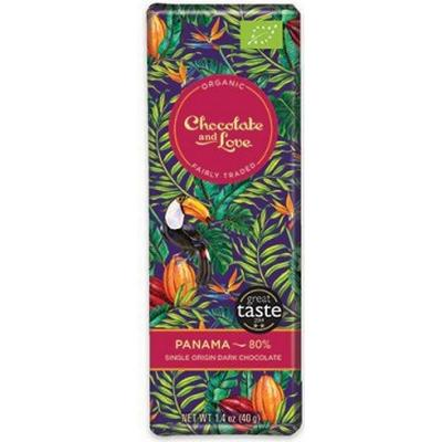 Chocolate and Love Panama 80% 40g