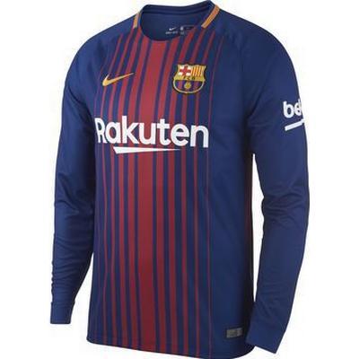 Nike Barcelona FC Home LS Jersey 17/18 Sr