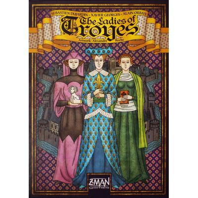 Z-Man Games The Ladies of Troyes
