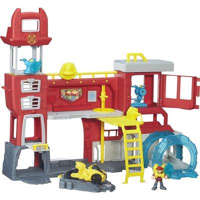 Hasbro Playskool Heroes Transformers Rescue Bots Griffin Rock Firehouse Headquarters B5210