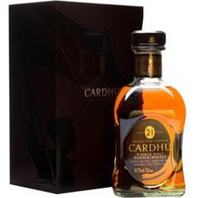 Cardhu 21 YO Speyside Single Malt 54.2% 70 cl