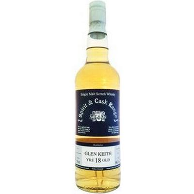 Spirit & Cask Glen Keith 18 YO 56.3% 70 cl