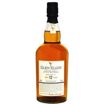 Glen Elgin 12 YO Speyside Single Malt 43% 70 cl