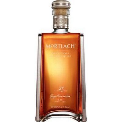 Mortlach 25 YO Speyside Single Malt Scotch 43.4% 50 cl