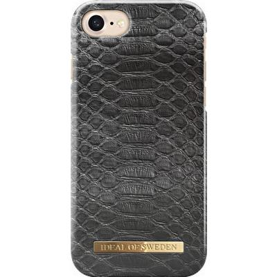 iDeal of Sweden Black Reptile Fashion Case (iPhone 6/6S/7/8)
