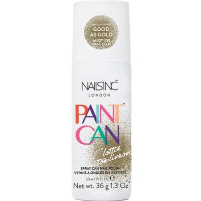 Nails Inc Paint Can Good as Gold 50ml