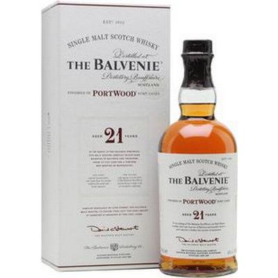 The Balvenie Balvenie PortWood 21 YO Speyside Single Malt 40% 70 cl