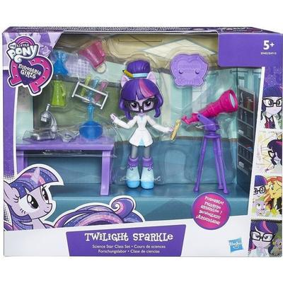 Hasbro My Little Pony Equestria Girls Minis Twilight Sparkle Science Star Class Set B9483