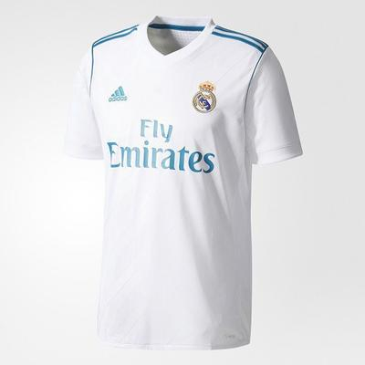 Adidas Real Madrid Home Jersey 17/18 Sr