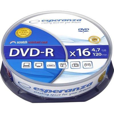 Esperanza DVD-R 4.7GB 16x Spindle 10-Pack