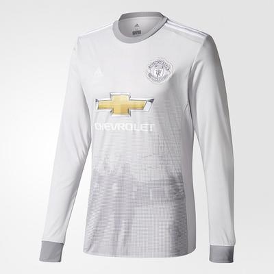 Adidas Manchester United Third LS Jersey 17/18 Sr