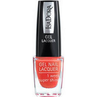 Isadora Gel Nail Lacquer Orange Deco 6ml