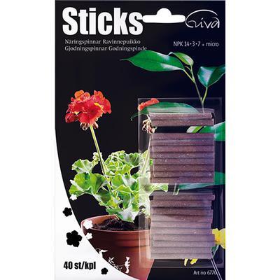 Nelson Garden Giva Gødningspinde Sticks 40 pack