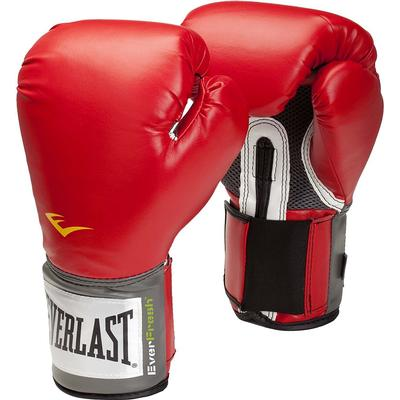 Everlast Velcro Pro Style Boxing Training Gloves 8oz