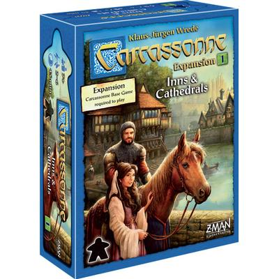 Z-Man Games Carcassonne: Inns & Cathedrals Expansion 1