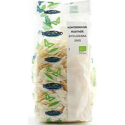 Biofood Coconut Slices Roasted 250g