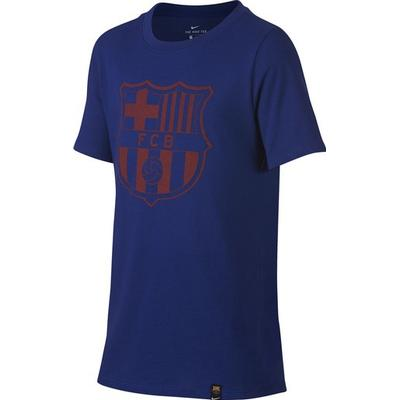 Nike Barcelona FC Crest T-Shirt 16/17 Youth
