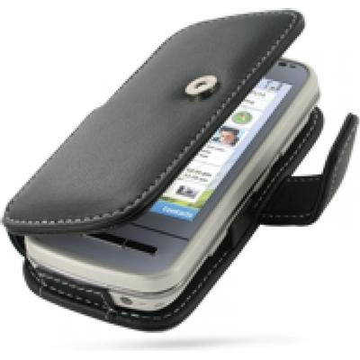 PDair Leather Book Case (Nokia C6)