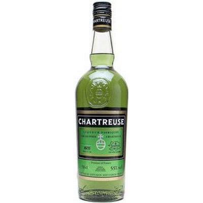 Chartreuse Verte (Grøn) 55% 35 cl