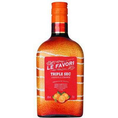 Le Favori Triple Sec 40% 70 cl