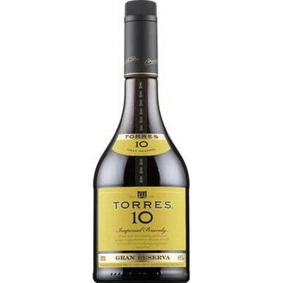 Torres 10 Gran Reserva Imperial Brandy 38% 70 cl