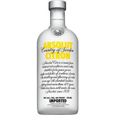 Absolut Vodka Citron 40% 70 cl