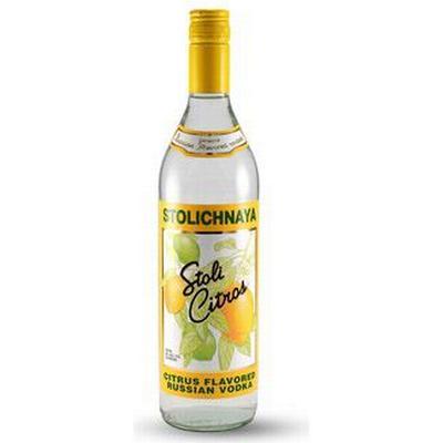 Stolichnaya Vodka Citros 37.5% 70 cl