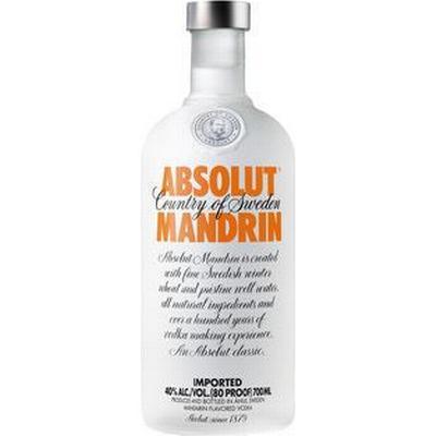 Absolut Vodka Mandrin 40% 70 cl