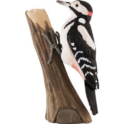 Wild Life Garden Deco Bird Woodpecker Prydnadsfigur