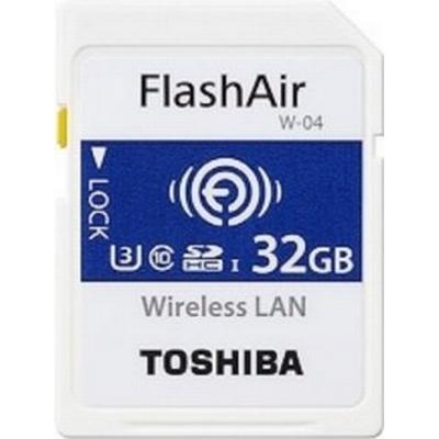 Toshiba FlashAir W-04 SDHC Class10 UHS-I U3 90/70MB/s 32GB