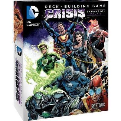 Cryptozoic Dc Comics Deck Building Game : Crisis Expansion Pack 3 (Engelska)
